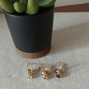 Jewelry - Shades of Autumn earring trio